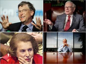 富比士2013年「全球富豪」榜,亞洲富豪崛起